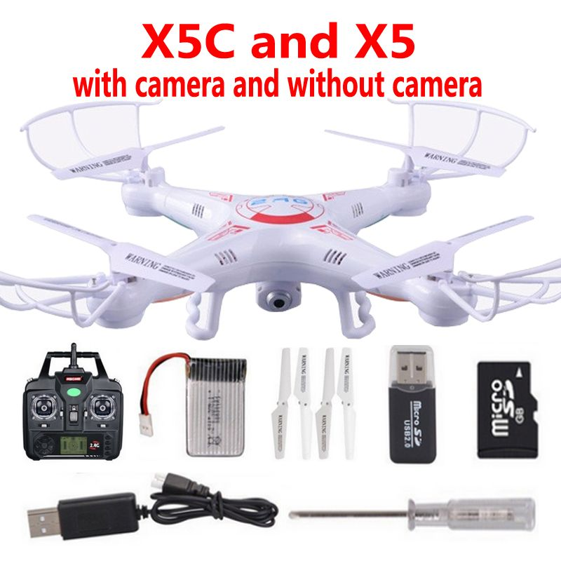 Original GM005C Floating With 2.0MP HD Camera RC Helicopter 2.4G 4CH 6-Axis RC Drone Toys and DM005 Without Camera Quadcopter