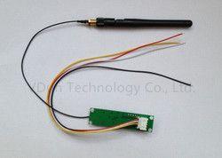 1 pcs 2.4 Ghz Sans Fil DMX 512 2 dans 1 Émetteur et Récepteur PCB Modules Conseil avec Antenne LED Contrôleur Wifi Récepteur