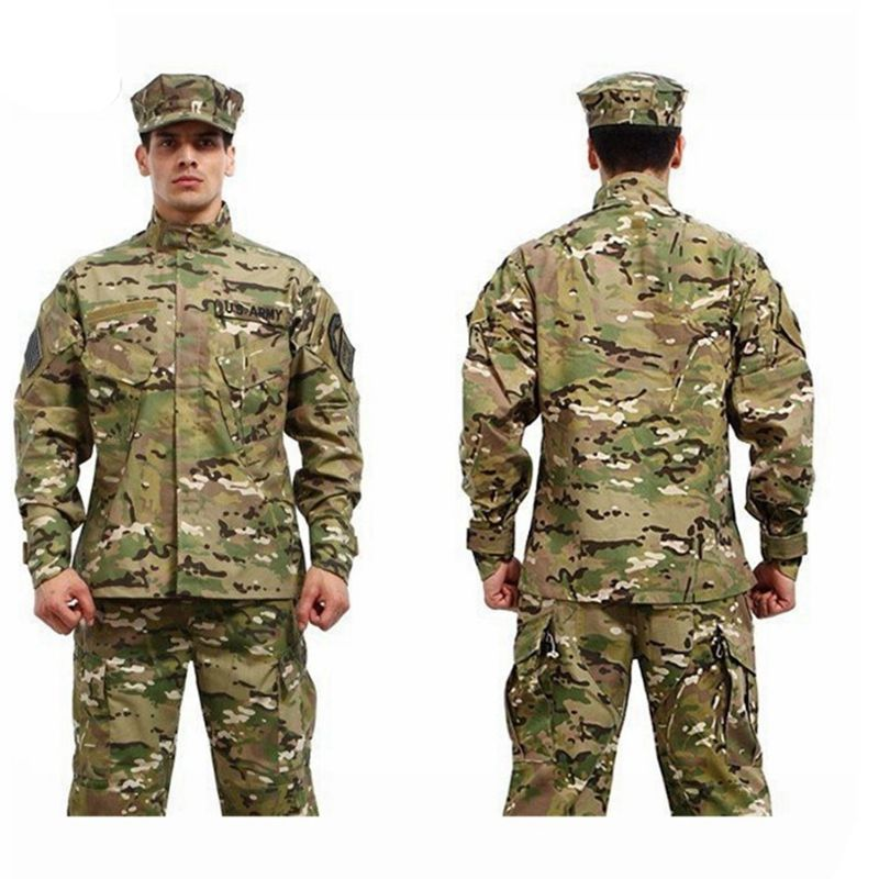 7 colors ! Military Tactical Shirt + Pants Multicam Uniforms Camouflage Uniform Military Army Uniform