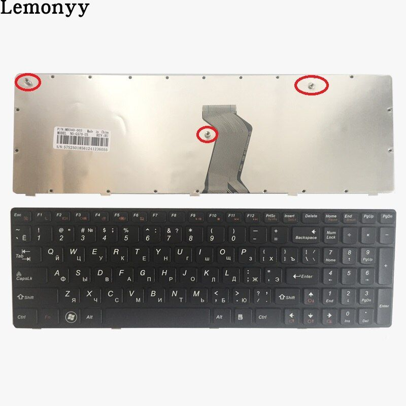 New Russian keyboard For Lenovo G560 G565 G560A G565A G560E G560L RU aptop keyboard