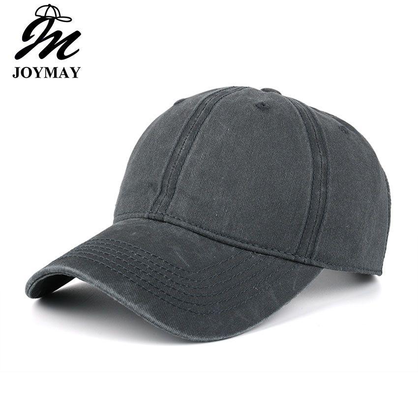 Haute qualité Lavé Coton Réglable Solide couleur Baseball Cap Unisexe couple cap Loisirs Mode Casual CHAPEAU Snapback cap B126