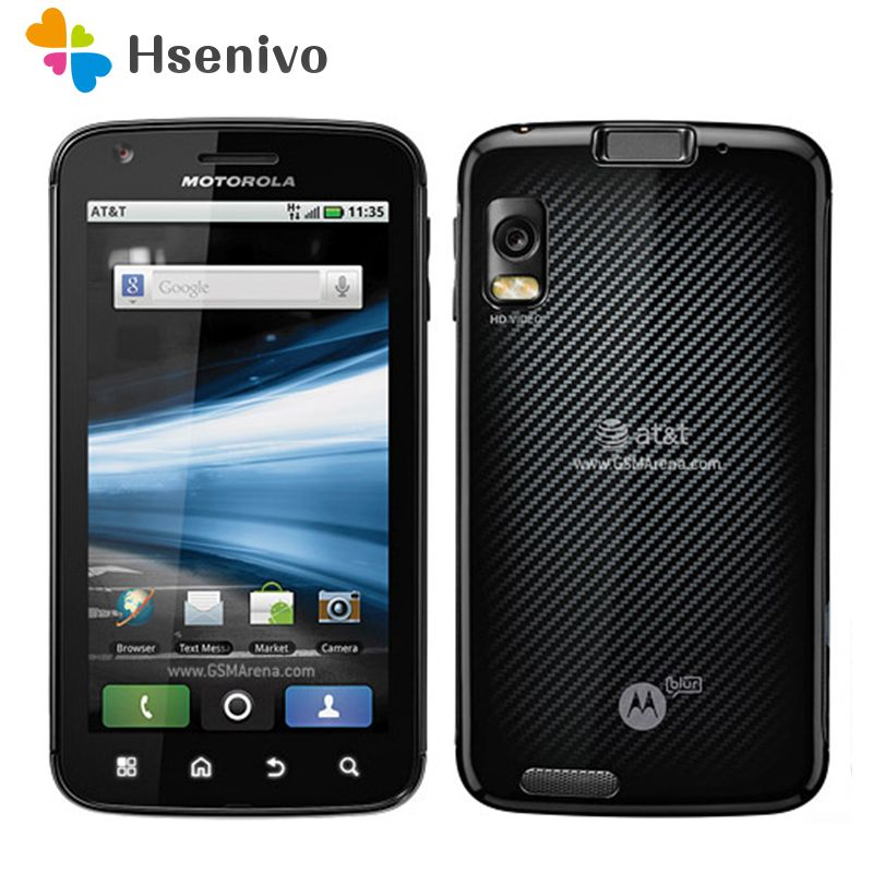 100% Original Unlocked Motorola ATRIX 4G MB860 mobile phone Dual-core 4.0'inch 1GB RAM 16GB Phone refurbished