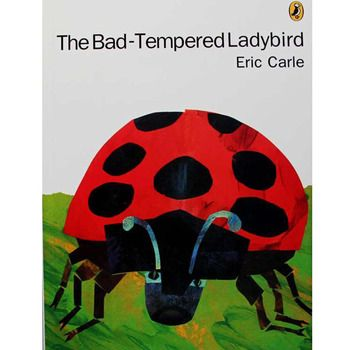 The Bad-Tempered Ladybird By Eric Carle Educational English Picture Book Learning Card Story Book For Baby Kids Children Gifts
