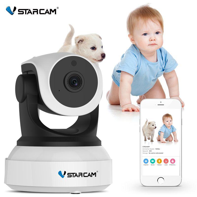 Vstarcam bébé moniteur 720P Wifi sécurité IP caméra IR Vision nocturne Audio enregistrement Surveillance sans fil HD IP caméra C7824WIP