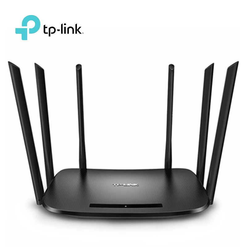 Wireless Wifi Router Tp-Link WDR7400 6 Antenna 2.4ghz&5ghz 80ac 17502.11mbps Repeater Archer C7 Soho Router TP LINK TL-WDR7400
