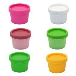 2 Pcs/lot Isi Ulang Botol Plastik Makeup Kosong Jar Pot Travel Wajah Cream/Lotion/Kosmetik Kontainer 9 Warna 50g