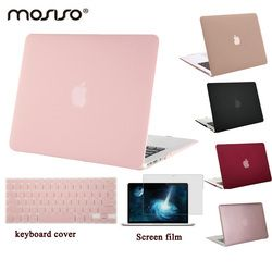 MOSISO para Macbook Air 13 A1466/A1369 plástico duro caso de la cubierta para Mac book Pro 13 Retina A1425/ a1502 mate Shell portátil