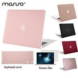 MOSISO pour Macbook Air 13 A1466/A1369 En Plastique Dur Cas Couverture pour Mac book Pro 13 Retina A1425/A1502 Clair Mat Ordinateur Portable Shell