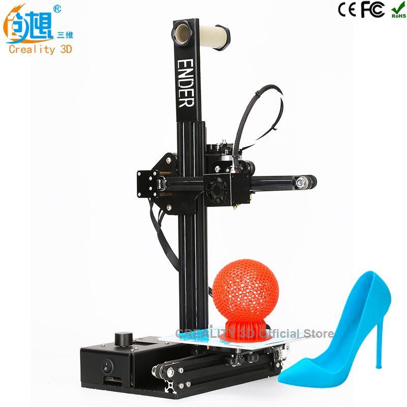 3 d imprimante CREALITY 3D Ender-2 Pas Cher 3D Imprimantes Métal cadre 3d imprimante machine Reprap prusa i3 3d imprimante kit DIY filaments