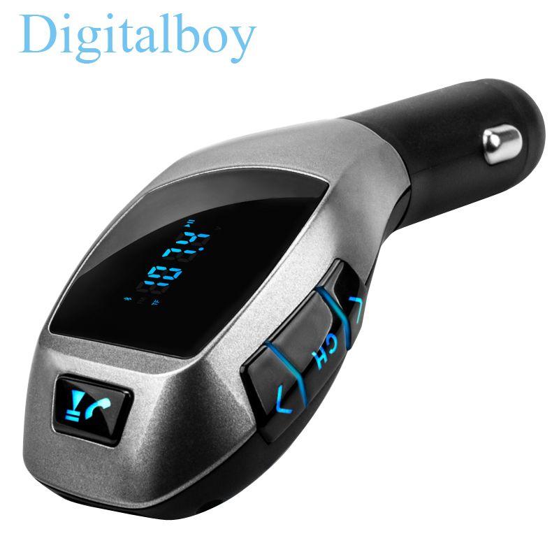 Bluetooth гарнитура для авто Беспроводной fm-передатчик Радио адаптер fm-модулятор громкой музыки mp3 usb проигрыватель аудио для смартфонов