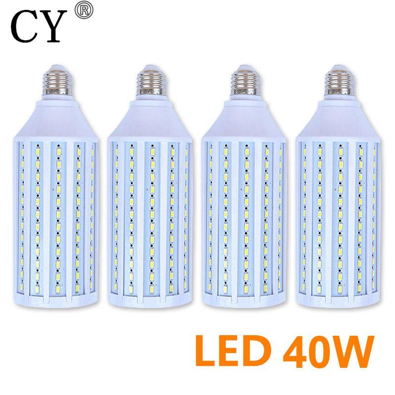 New 4Pcs E27 220v Photo Studio Bulb 40W 5730 SMD LED Video Light Corn Lamp Bulb & Tubes Photographic Lighting