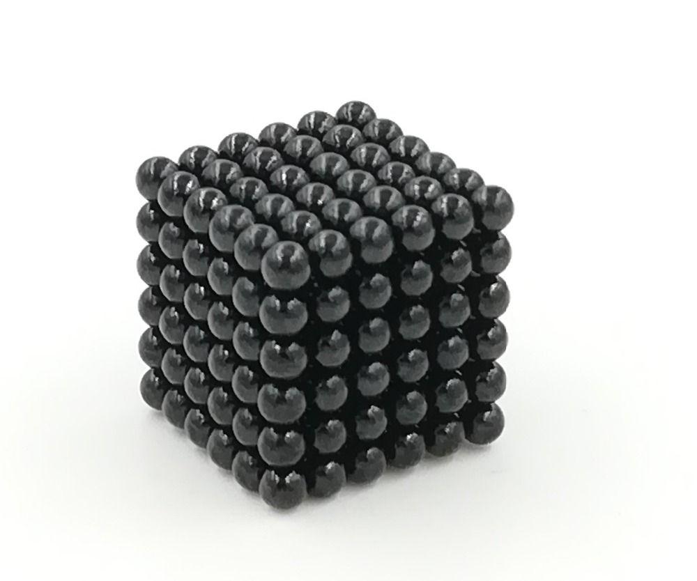 3mm 216pcs Magnetic Cube Neo Cube Magic Cubes DIY Balls Blocks Puzzle Educational Building Toys Vacuum Package