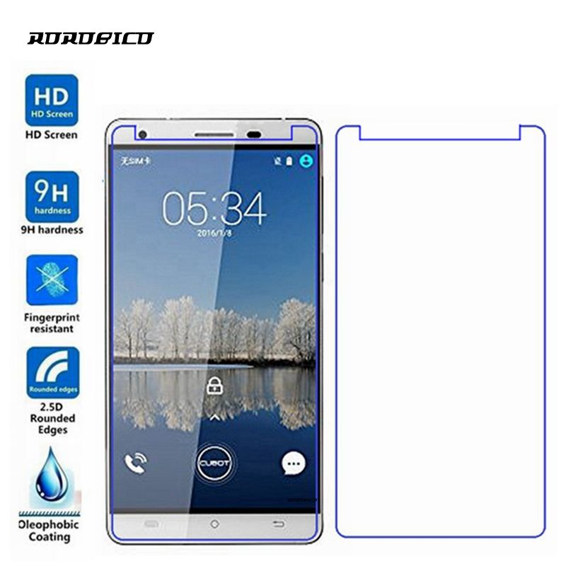 ROROBICO For Cubot X17 Screen Protector 0.26mm 2.5D 9H Front Film Premium Toughened Explosion-Proof Tempered Glass