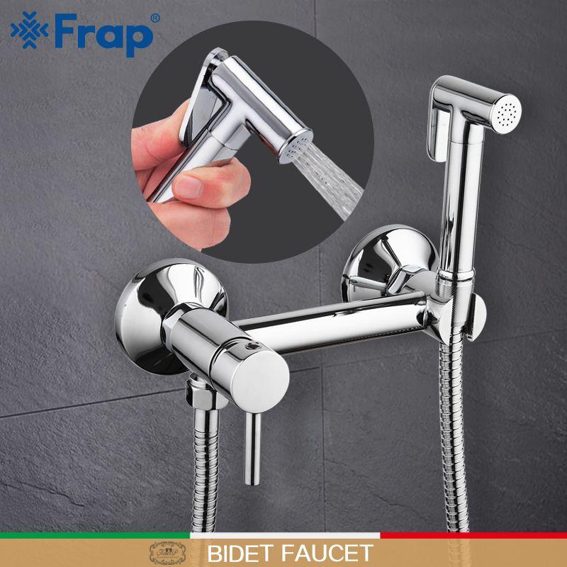 Frap wall mount Bidet Faucets Brass Bathroom shower tap bidet toilet sprayer washer tap mixers muslim shower ducha higienica