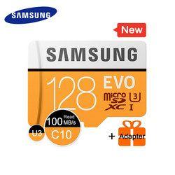 SAMSUNG Micro SD Carte Mémoire 16 GB 32G 64G 128G MicroSD Cartes SDHC SDXC Max 95 M/s EVO 32 GB 64 GB C10 TF Trans Flash Mikro Carte