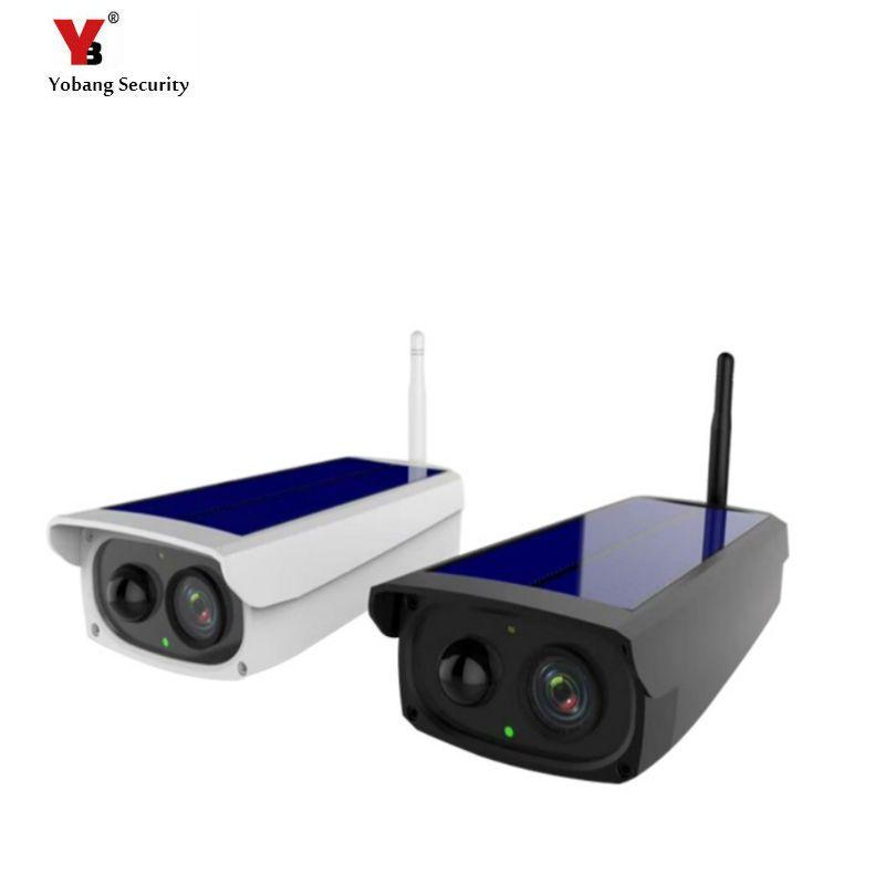 Solar Power Waterproof Outdoor Security Camera PIR Motion Detecting Surveillance CCTV Camera Video Recorder TF Card