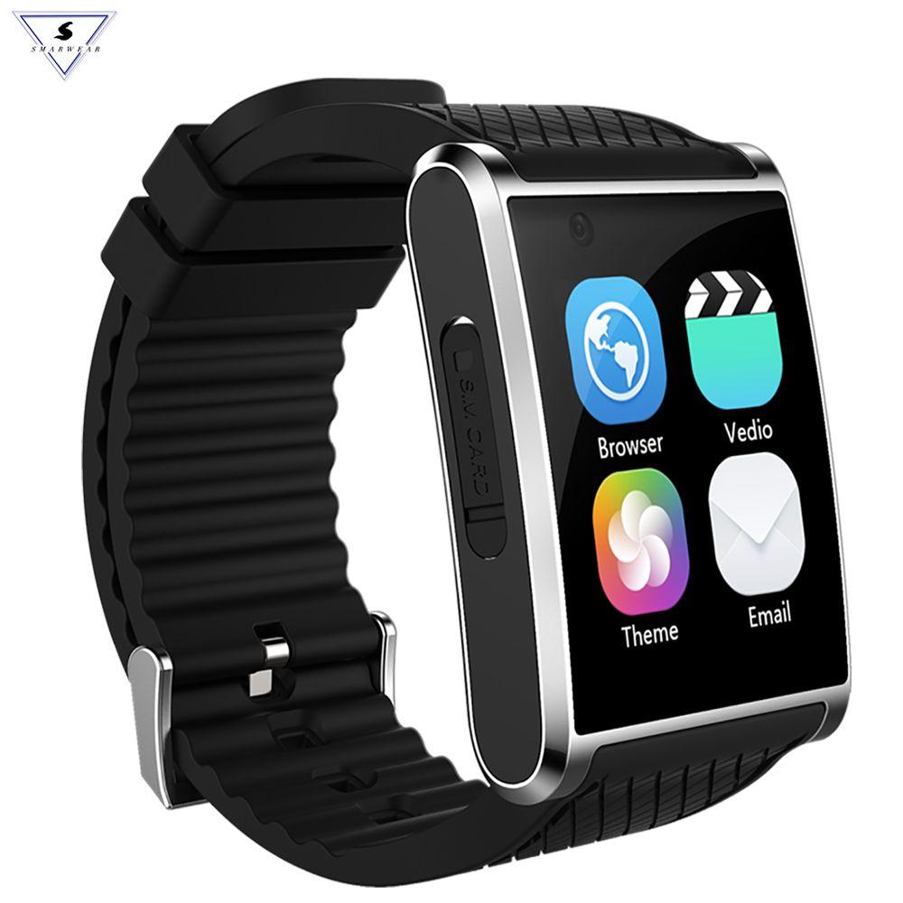 Ssmarwear X11 Bluetooth MTK6580 Smart Watch Pedometer Sleep Health Tracker Music Player HD Video Call 3G SmartPhone GPS SIM WIFI