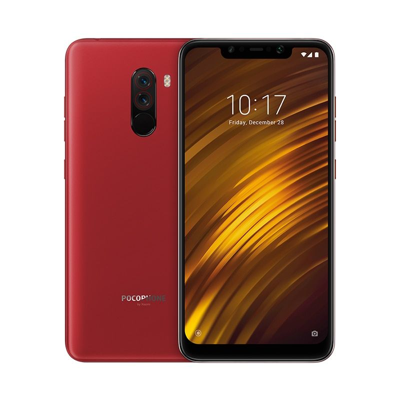 Xiaomi POCOPHONE F1 6GB 128GB Global Version Mobile Phone Snapdragon 845 4000mAh Dual Camera Face Unlock Full Screen Smartphone