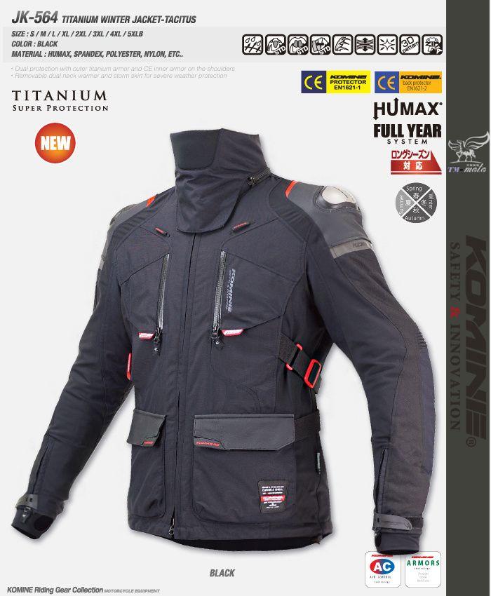 New motorcycle hunting jacket enduro racing jacket titanium winter jacket Tacitus JK564