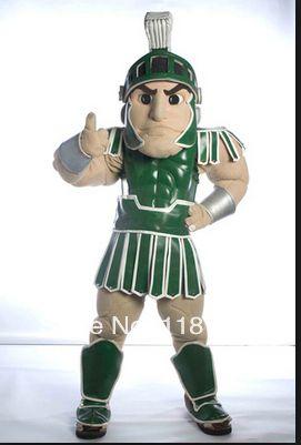 MASCOT Spartan trojan knight mascot costume cartoon custom fancy costume cosplay mascotte fancy dress costume