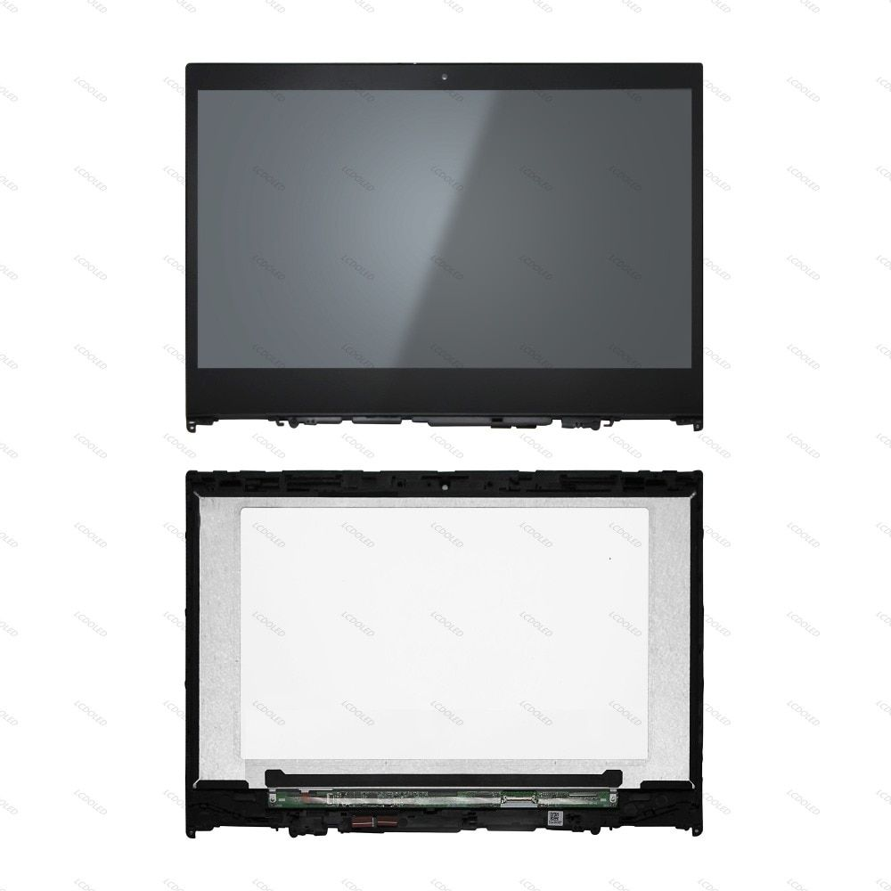 14'' LCD Display Screen +Touch Glass Digitizer Panel Assembly Replacement IPS NV140FHM-N49 Laptop For Lenovo Yoga 520-14IKB 81C8