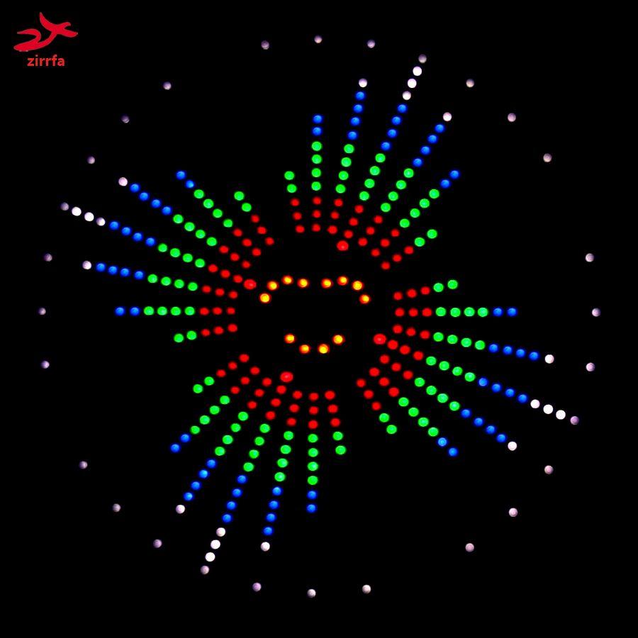 Zirrfa lumière de danse parfaite découpée, Animations maison par panneau de développement, kit de bricolage électronique led