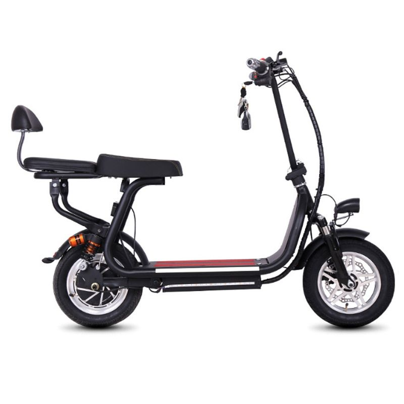 12 inch Electric bike mini two wheels folding bike lithium battery bicycle adult pedal scooter Convenient small electric bike
