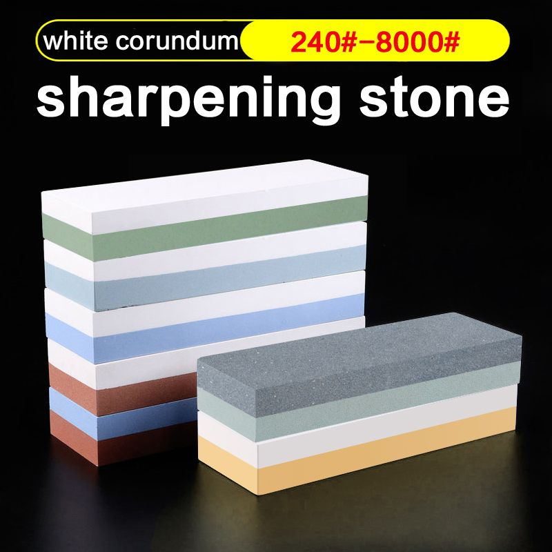 <font><b>1pcs</b></font> 600 1000 3000# professional Kitchen Whetstone Sharpening Stones for a Knife Sharpener kitchen sharpening