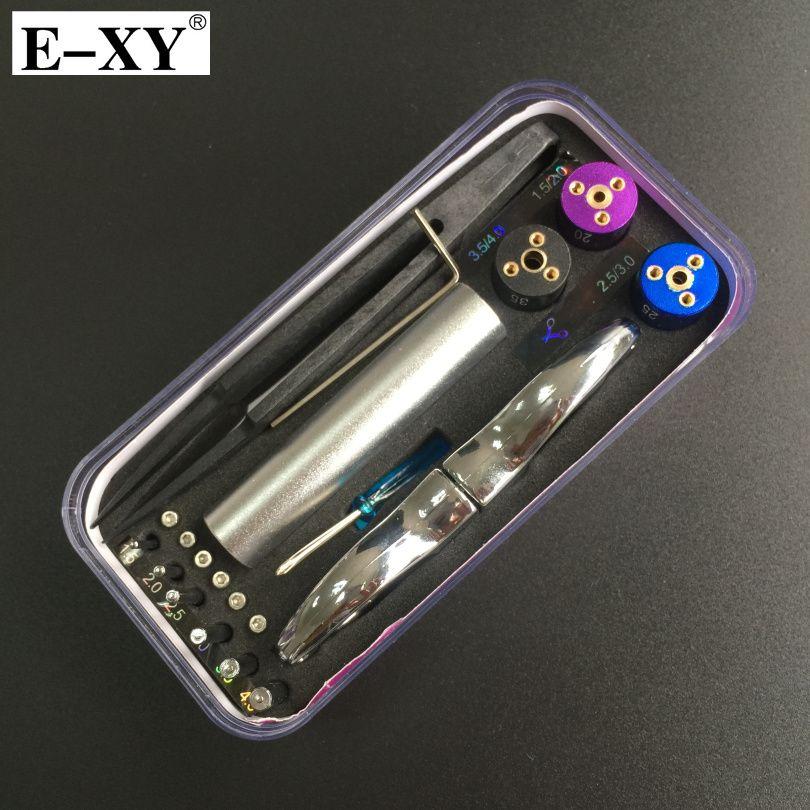 E-XY nouveau bâton magique CW Kit d'enroulement 6 taille en 1 bobine gabarit de chauffage fil mèche outil pour bricolage RDA RBA atomiseur mod pour vape