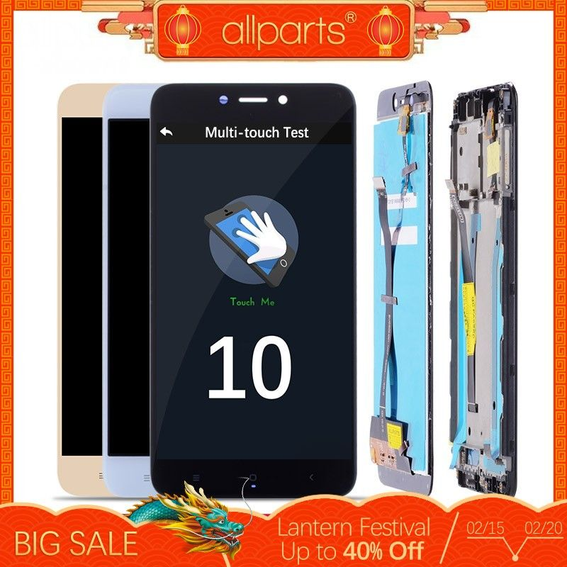 5.0 Original LCD For XIAOMI Redmi 4X Display Touch Screen with Frame For XIAOMI Redmi 4X LCD Display 4X Pro LCD Screen #4