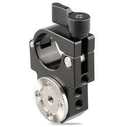 CAMVATE 25mm Single Rod Clamp with Arri Rosette Lock for Ronin-M Gimbal Stabilizer (Black Thumbscrew) C1590