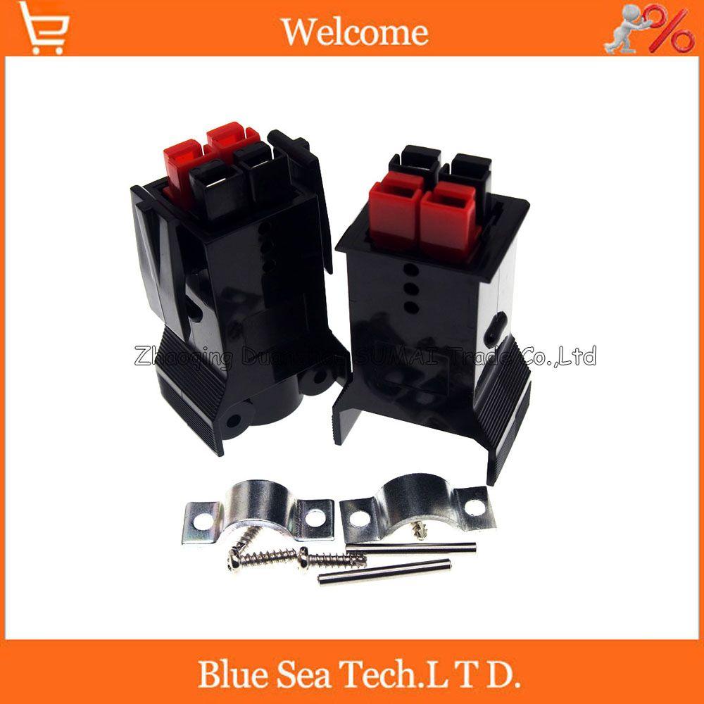 5 paires de nouveaux kits de prise de batterie de module de carte PCB de connecteur d'alimentation de 4 broches/pôles 30A 600 V pour l'ect électrique de chariot élévateur.