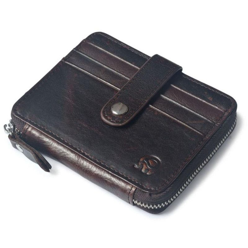 Gift Wallet for credit cards cion bags Men's Leather Cowhide Bifold Wallet ID Credit Card Holder Coin Purse car-covers