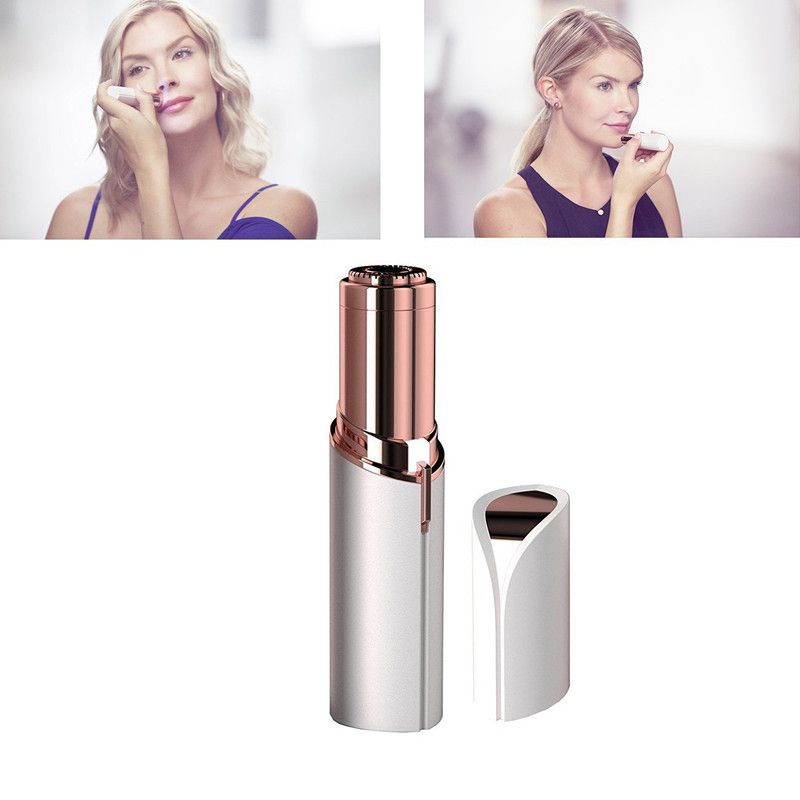 Finishing Touch Flawless Epilator,Electric Women Lipstick hair remover portable Lipstick Hair remover face women epilator