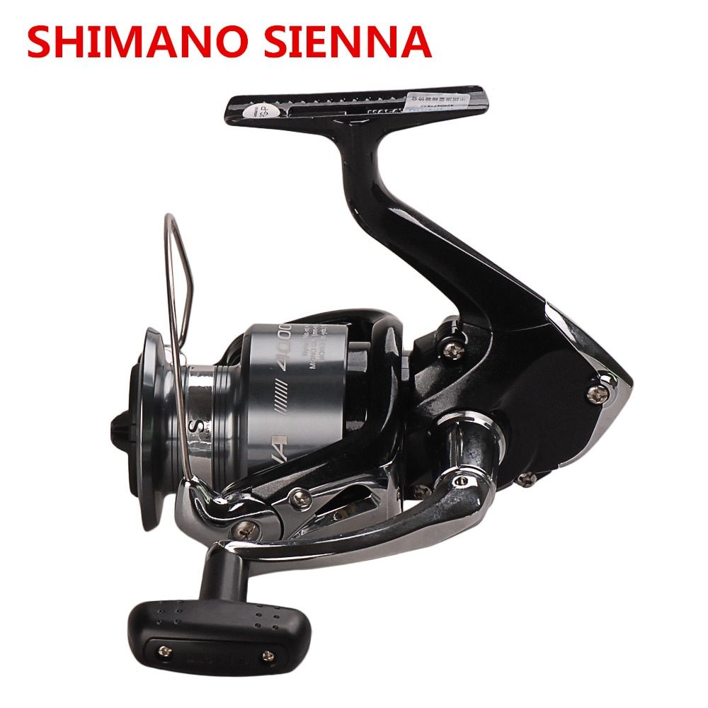 Original Shimano SIENNA FE 1000 2500 4000 Spinning Fishing Reel 2BB Front Drag XGT7 Body Saltewater Carp Fishing Reel Lure Wheel