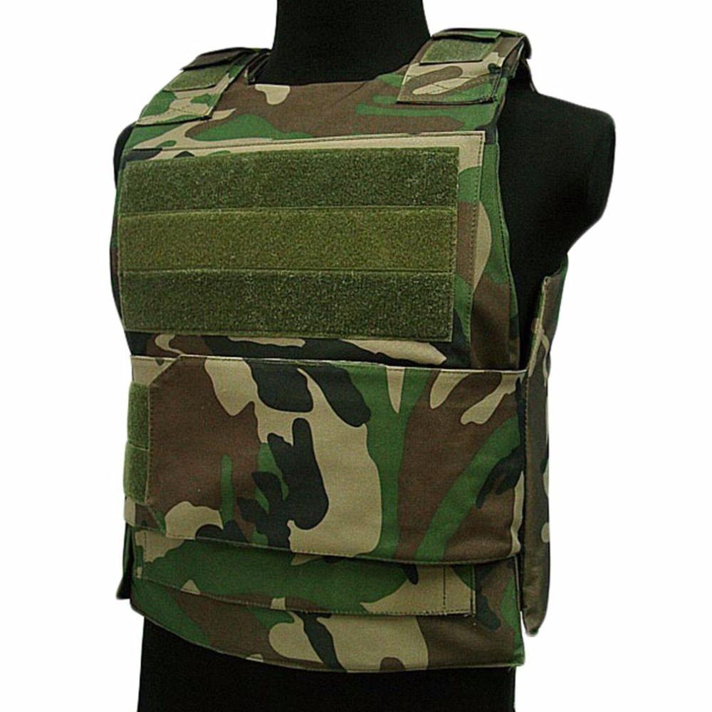 LESHP Men Women Security Guard Vest Bulletproof Vest Breathable CS tactical vest Clothing Waterproof Protecting Clothes