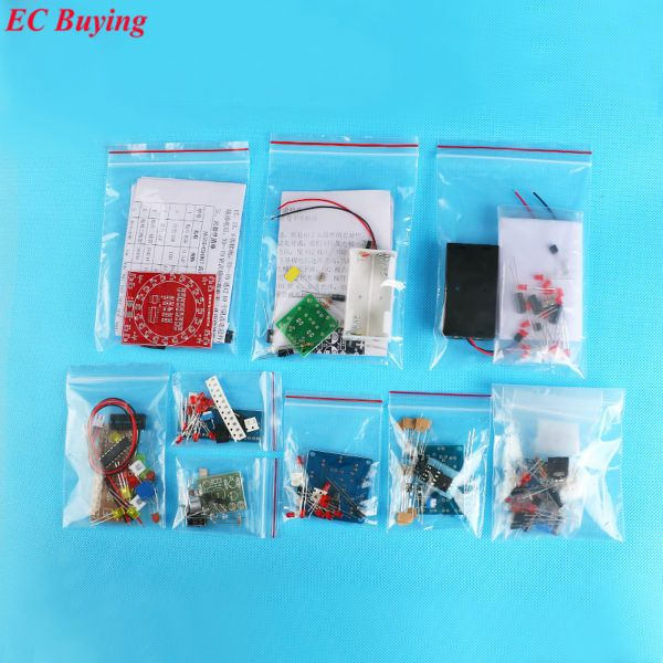 Electronic DIY Kit SMD SMT Components Welding Practice Board Soldering Skill <font><b>Training</b></font> Beginner Electronic Kit for Self-Assembly