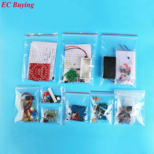 Kit de bricolage électronique SMD SMT composants conseil pratique de soudage compétence de soudage formation débutant Kit électronique pour auto-assemblage