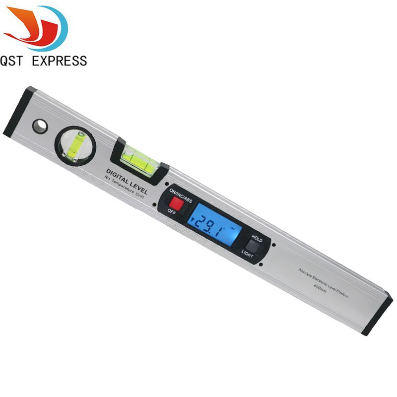 Digital Angle Finder Level 360 Degree Range Spirit Level Upright Inclinometer  Protractor Ruler