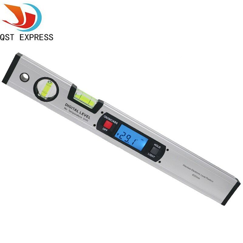 Digital Angle Finder Level 360 Degree Range Spirit Level Upright Inclinometer Protractor Ruler
