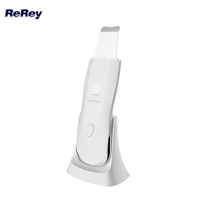 Waterproof Ultrasonic Shower Skin Scrubber Face Massager Facial Cleaner Pore Deep Cleaning Blackhead Acne Removal Exfoliating