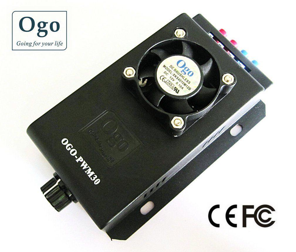Approbation de haute qualité 12/24 V 30A HHO PWM (OGO-PWM30) CE et FCC
