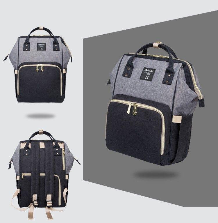 Diaper Bags Stroller Brand Large Capacity Baby Nappy Bag Mummy Travel Backpacks Desiger Baby Care Nursing Bag For Mum Maternity
