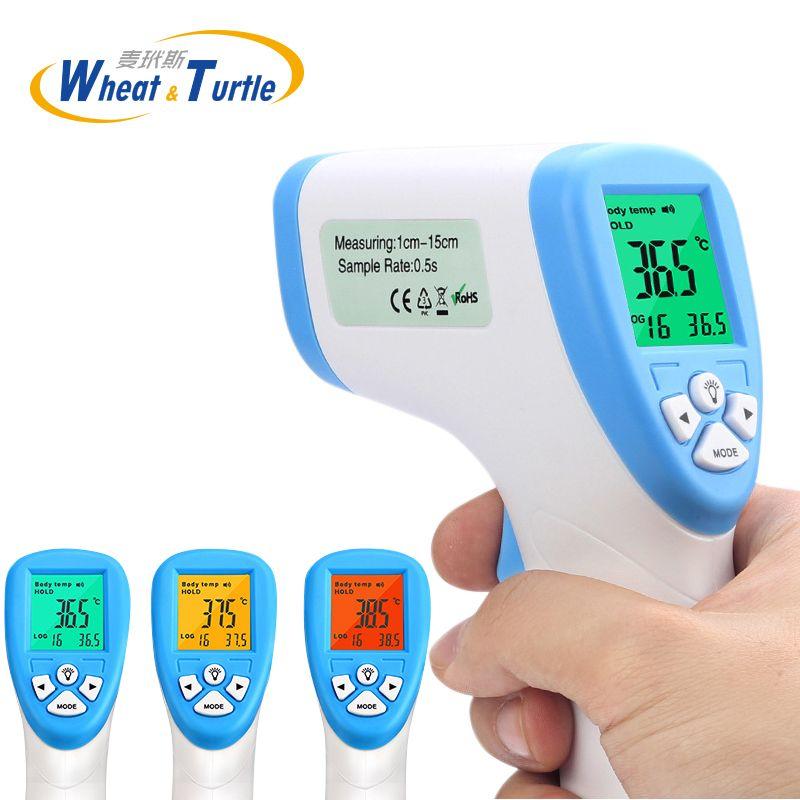 Herramienta de diagnóstico Digital Termómetro Para El Bebé Adulto Medida de Temperatura Sin Contacto Termómetro Infrarrojo Del Cuerpo Retroiluminación de $ number colores