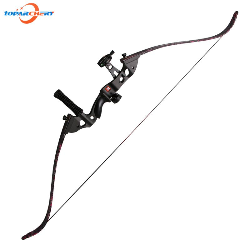 2017 New Arrival Recurve Bow Take Down Bow 35lbs 40lbs 45lbs for Archery Hunting Shooting Sport Games with Bow Sight Stabilizer