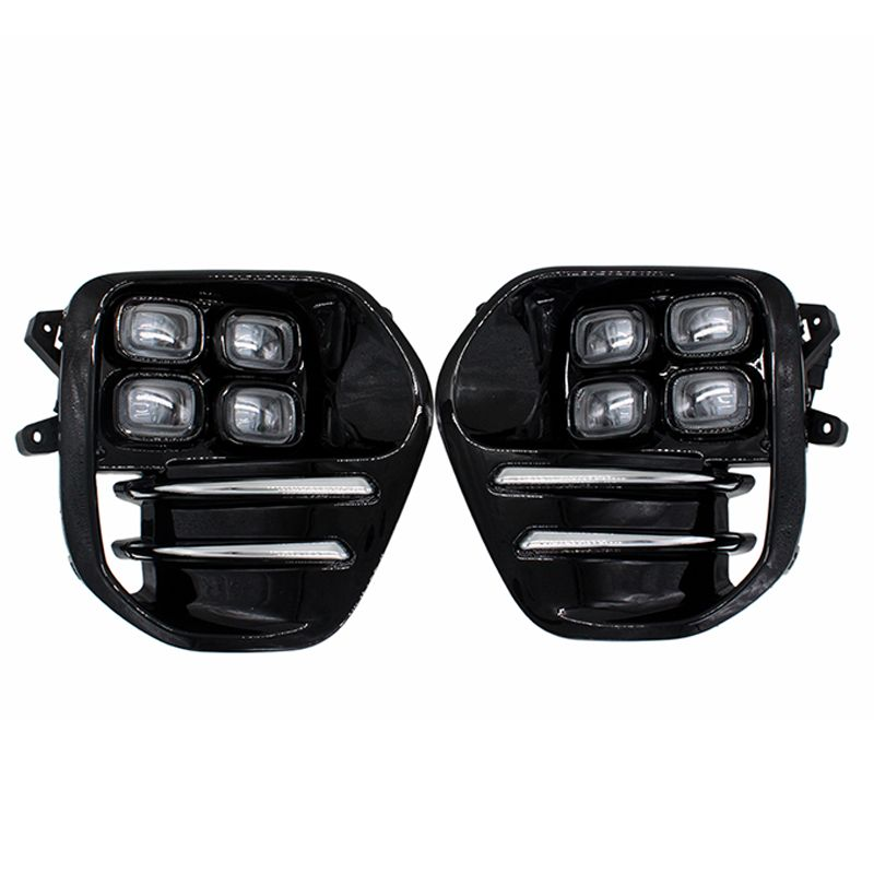 2pcs/set High Bright Car LED Daytime Running Light Fog Lamp DRL for KIA Sportage KX5 2016 2017