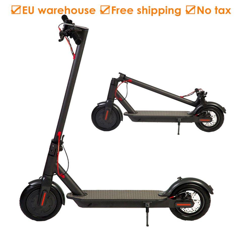 Europa Lager Erwachsene Folding Elektrische Roller 8,5 Zoll Zwei Räder E Roller Elektrische Tretroller IP54 12,5 kg 25 km lange Lebensdauer