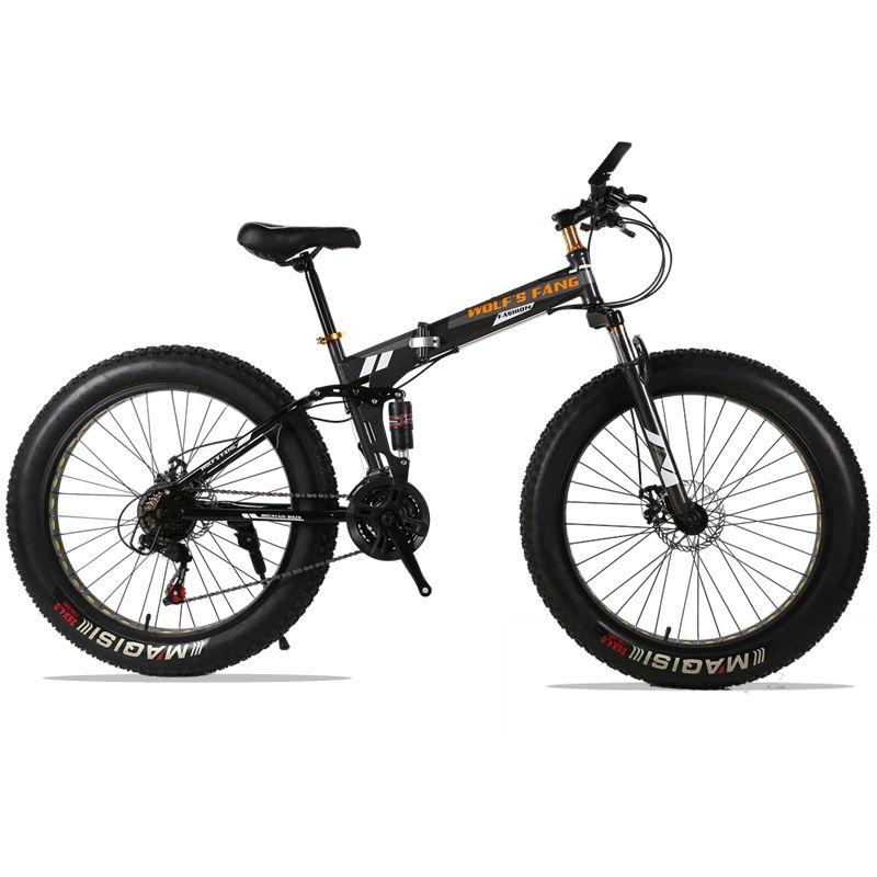 Klapp Fahrrad Mountainbike 26 zoll 21/24 Geschwindigkeit 26x4,0