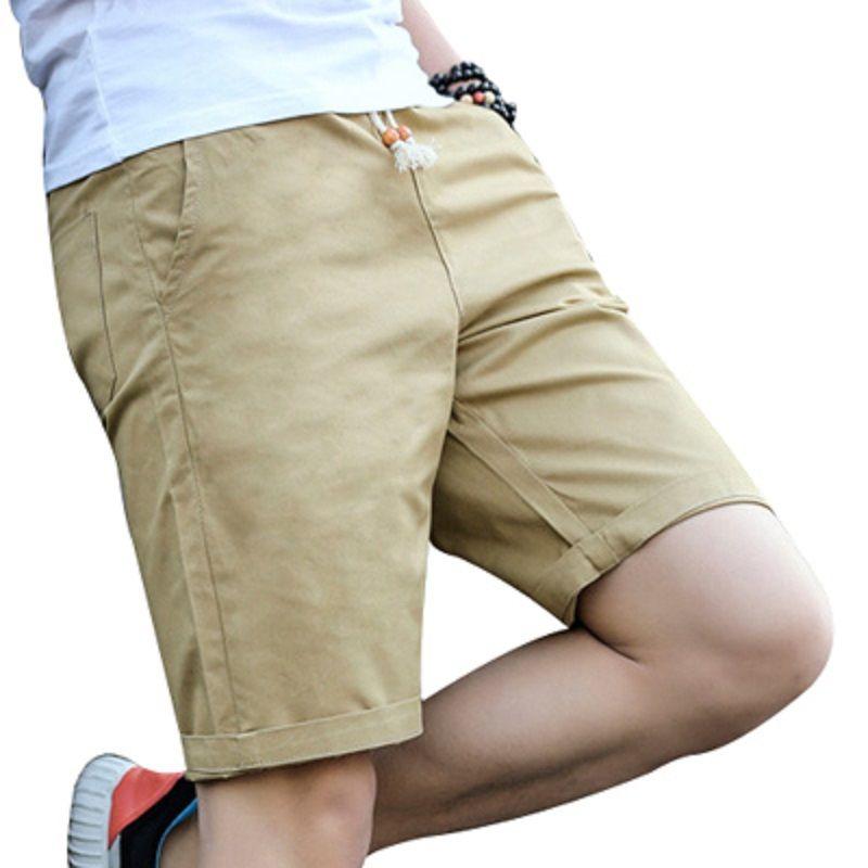 2017 Newest Summer Casual Shorts Men Cotton Fashion Style Men Shorts Bermuda Beach 7colors Shorts Plus Size M-5xl Short For Male