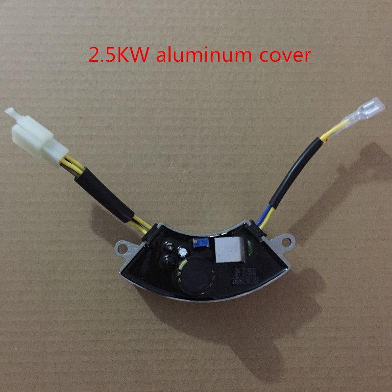 2KW-3KW régulateur de tension automatique triphasé AVR pour générateur réglable, générateur d'essence avr, 6 lignes SK8500W/PK7500W